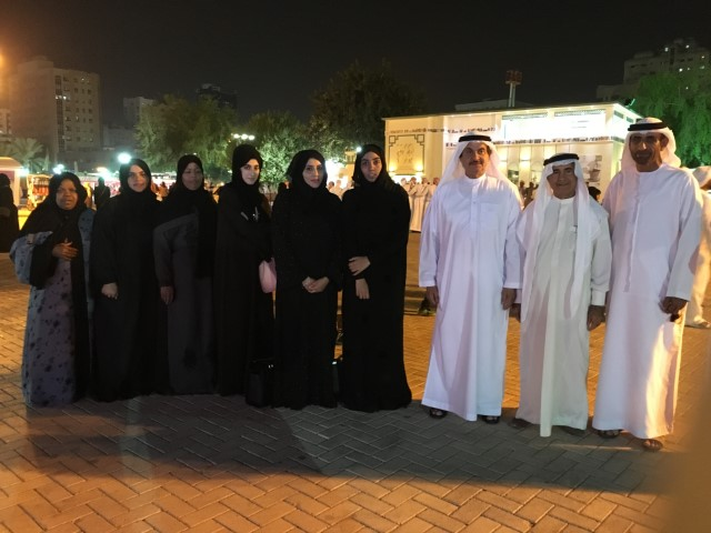 Visiting to Sharjah Heritage Days 2016